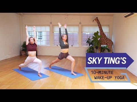 Sky Ting's 10-Minute Wake-Up Yoga | Health