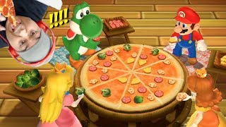 THIS PIZZA LOOK GOOD AS F#%K!!! [MARIO PARTY 9] [MINIGAMES ONLY]