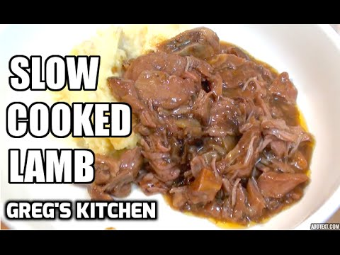 HOW TO MAKE SLOW COOKED LAMB  - Greg's Kitchen