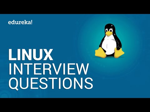 Linux Interview Questions And Answers | Linux Administration Tutorial | Linux Training | Edureka