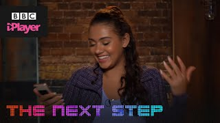 The Next Step react to your tweets! | CBBC