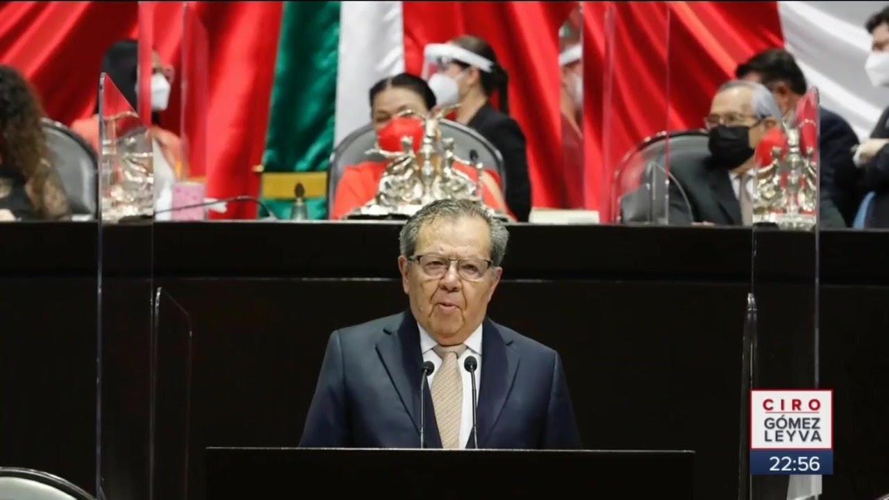 Discurso de Muñoz Ledo. Acusó a diputados de Morena de traicionar la democracia   Noticias con Ciro