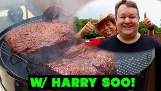 Competition Brisket Throwdown [Wagyu vs Prime vs Choice, Select] w/ Harry Soo  Comparison Experiment