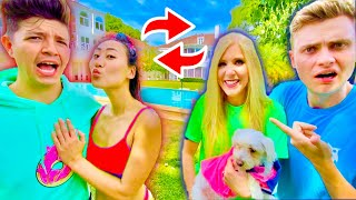 SWITCHING LIVES WITH BRIANNA FOR A DAY!! ft. Preston
