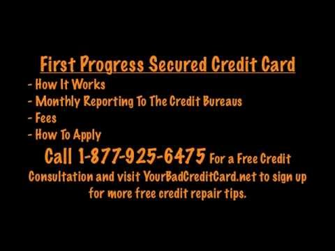 First Progress Credit Card - Secured MasterCard Review
