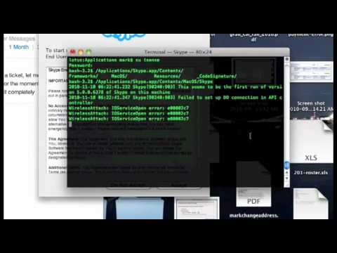 How to run two skype instances on Mac OS X