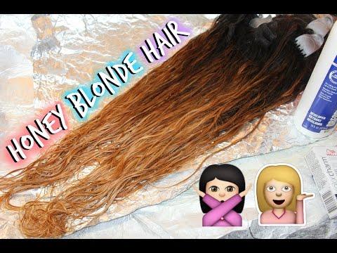 DIY Honey Blonde Hair   Julia Hair