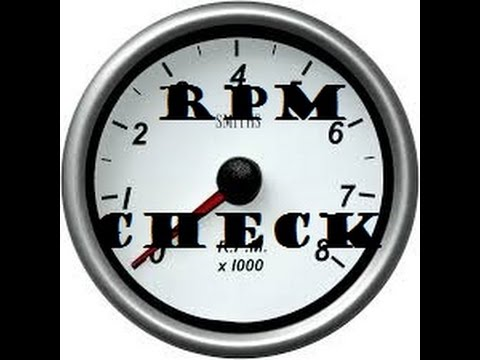 HOW TO CHECK RPM - without a tachometer cluster gauge- Ford Ranger