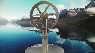Magnetic Low Temperature Differential Stirling Engine 2