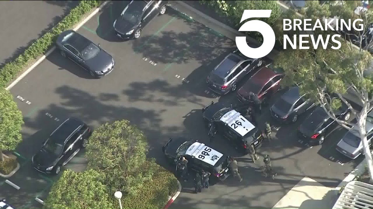 Pursuit of Mercedes-Benz Ends in Newport Beach Standoff