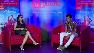 Jass Manak interview at launch of latest song LENGHA at GAANA OFFICE