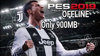 PES 2019 for Android PPSSPP 100% real