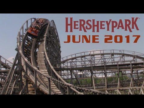 Hersheypark June 2017 Cinematic Park Footage