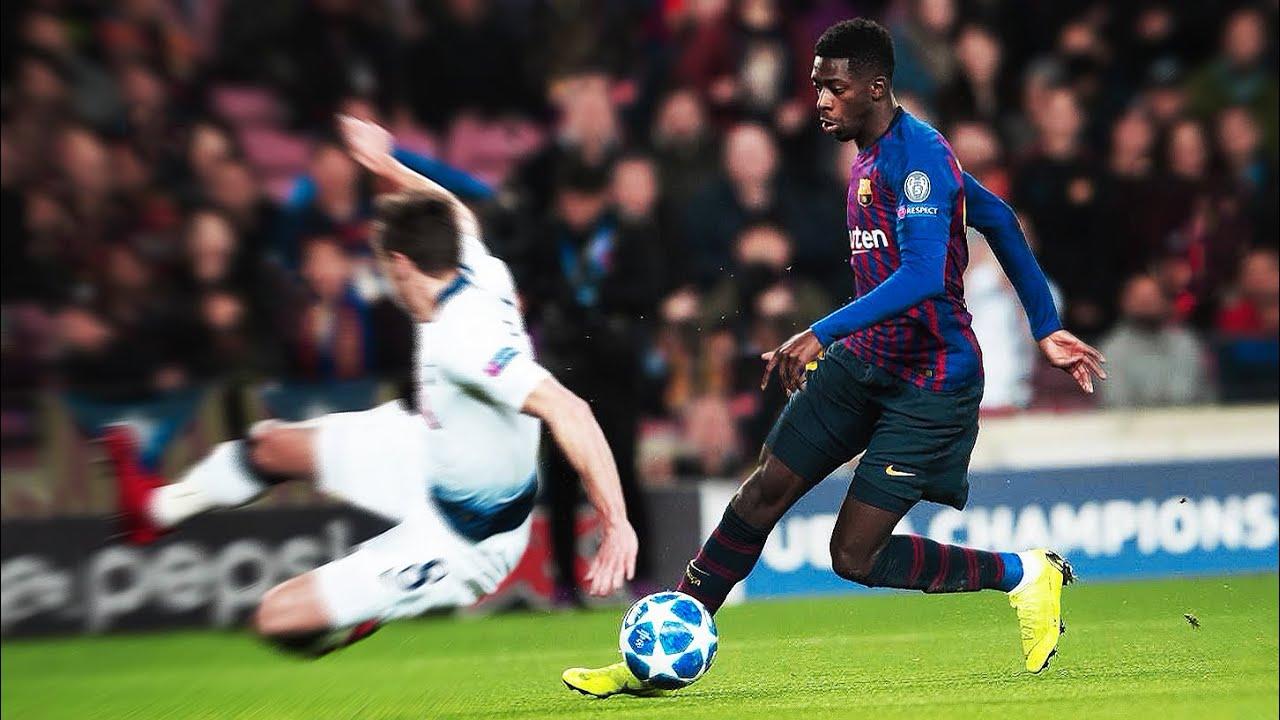 Ousmane Dembélé's Signature Move - The Fake Shot