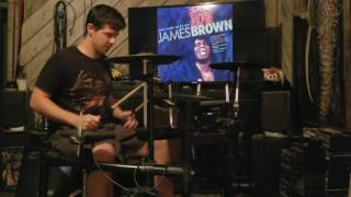 James Brown, Cold Sweat drum cover by Jeff Gann