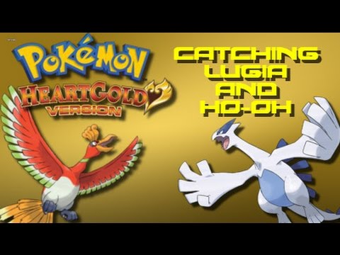 Pokemon Heart Gold: How to Catch Lugia and Ho-oh