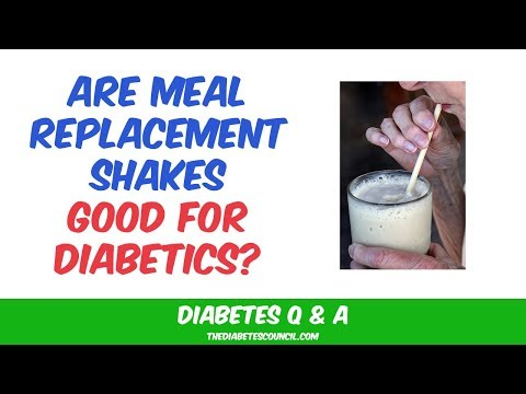 Are Meal Replacement Shakes Good for Diabetics?