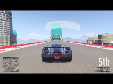 Stunt racing + Announcement |GTA 5 |