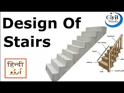 Design Of Stairs - How To Make Stairs - Stairs Design In Urdu/Hindi