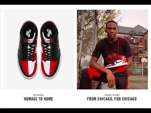 NIKE Air Jordan 1 HOMAGE High OG Drop Today + Copping Video F*! 5 19 18