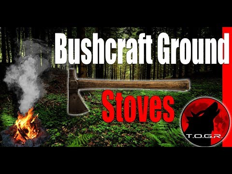 Bushcraft Ground Stoves - How To - Bushcraft Basics