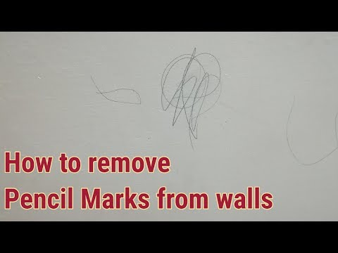 How to Remove Pencil Marks From Painted Walls -House keeping tips-Reebz World