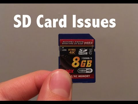 SD card says its full even though it's not: HOW TO FIX IT