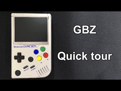 Game Boy Zero powered by a Raspberry pi zero