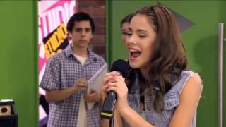 "Seriál Violetta na Disney Channel - Violetta zpívá ""En Mi Mundo"" (Epizoda 13)"