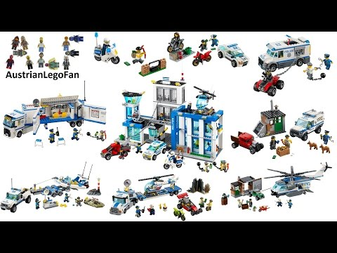 All Lego City Police Sets 2014 - Lego Speed Build Review