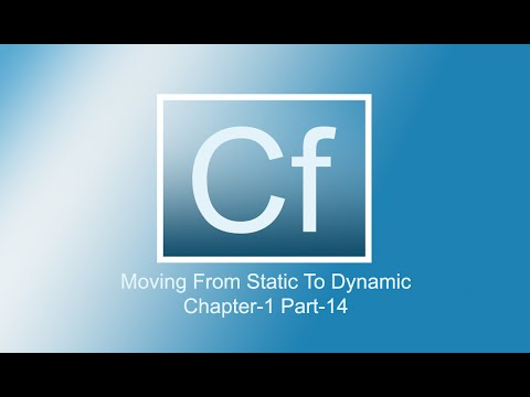 Adobe Coldfusion 11 Tutorials | Introducing Switch Conditionals | Chap-1 | Part-14
