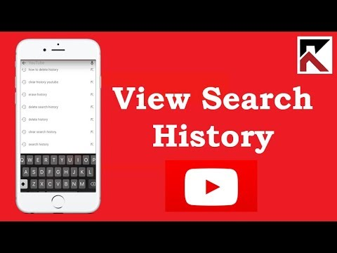How To View Search History YouTube iPhone