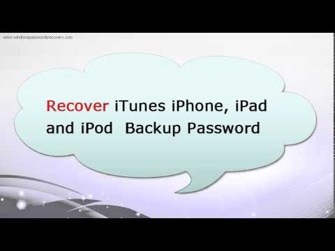 Forgot iTunes Backup Password and Can't Restore after iOS 8 Update