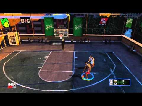NBA 2K14: Blacktop Mode | LeBron James vs Michael Jordan