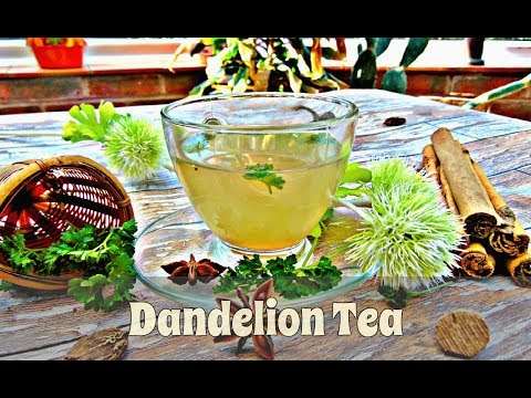 How to Make Dandelion Tea - A Delicious Blend of Dried Dandelion, Ginger & Lime | Episode 118