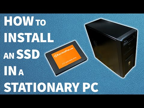 How to install an SSD in a stationary PC | computer tutorial