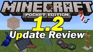 Minecraft PE 1.2 UPDATE REVIEW