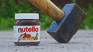 EXPERIMENT Hammer VS Nutella