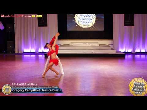 WSS16 Professional Bachata Cabaret 2nd Place Gregory Campillo & Jessica Diaz