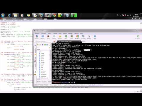 05 - Offensive Python For Networkers   Python Basics through My IPChecker tool- 4/4