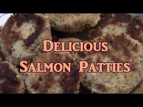 Fried Salmon Patties
