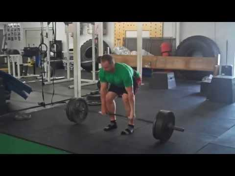 Deadlift, Sleds, and the comeback workout