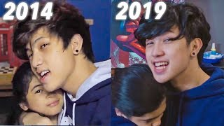 REMAKING OUR FIRST VIDEO!! (5 Years Ago) | Ranz and Niana