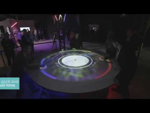 Air Hockey Meets Augmented Reality