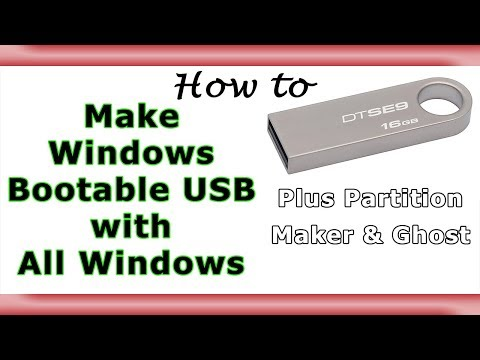 All Windows in One USB   Bootable Windows USB with Extras