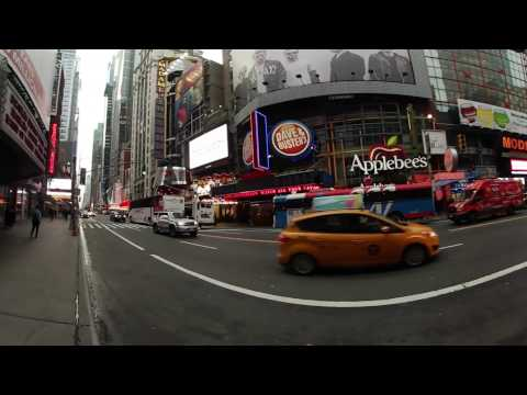 Walk to Times Square to Port Authority at 7am on a workday