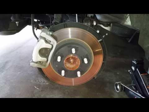 2014-2018 Mazda 6 Sedan - Checking Rear Disc Brakes @ 20K Miles - Pads, Caliper, Bracket & Rotor