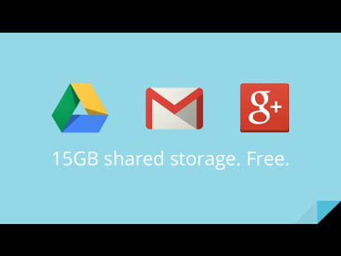 How to get more storage up from 15GB on Google Drive || FOR FREE || 2015