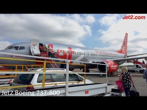 Jet2.com Boeing 737-800 Leeds Bradford to Arrecife (lanzarote) | full flight