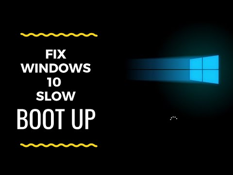 FIx Windows 10 Slow Startup !!!